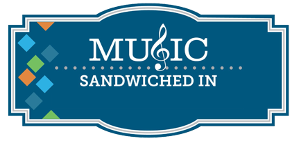 Music Sandwiched In Logo